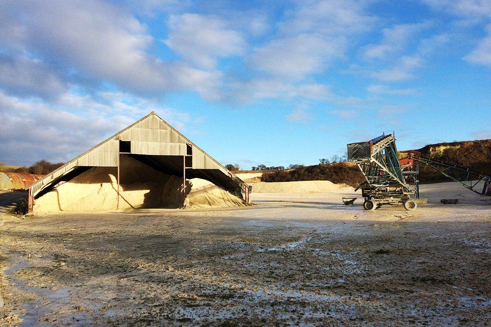 Newport quarry.